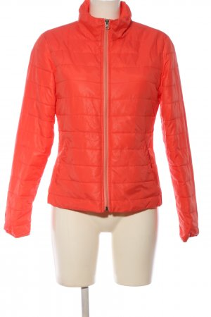 Gina Steppjacke rot Steppmuster Casual-Look