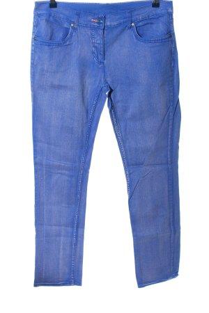 Gina Jeansy z prostymi nogawkami niebieski W stylu casual