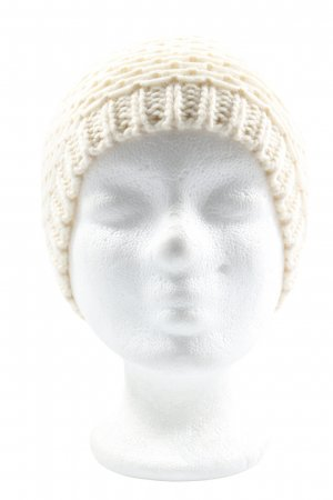 Gina Knitted Hat natural white casual look