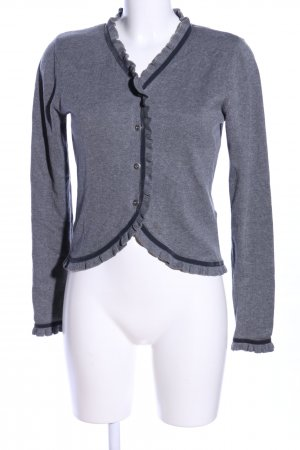Gina Knitted Vest light grey flecked casual look