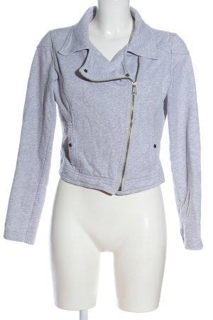 Gina Sweat Jacket light grey flecked casual look