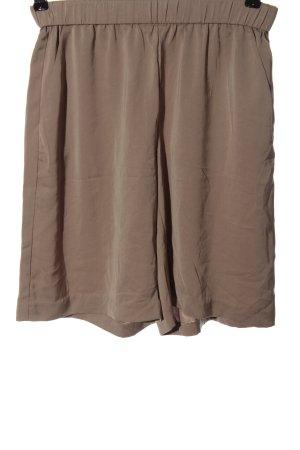 Gina Tricot Bermudy brązowy W stylu casual