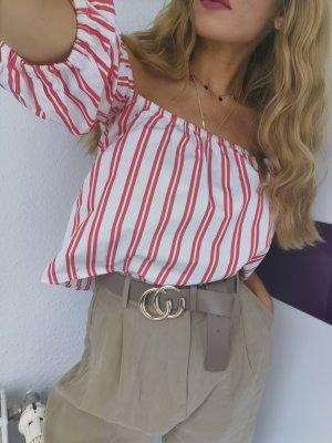 Gina tricot bluse carmen gr 34