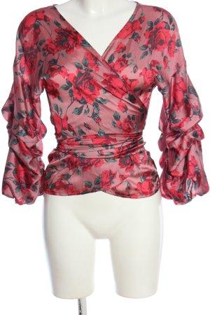 Gina Tricot Wickel-Bluse Blumenmuster Elegant
