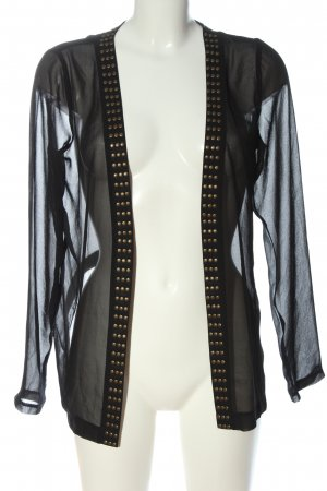 Gina Tricot Blouse Jacket black casual look