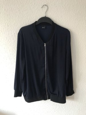 Gina Tricot Bomber Jacket dark blue