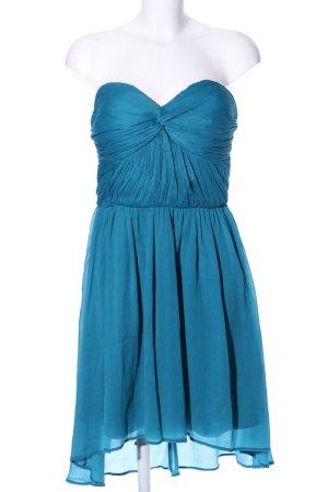 Gina Tricot Bustierkleid blau Elegant