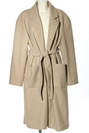 Gina Tricot Heavy Pea Coat natural white casual look