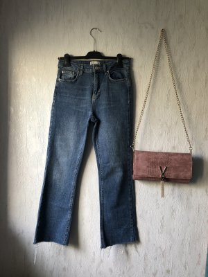 Gina Tricot 7/8 Length Jeans blue