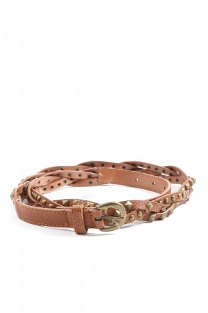 Gina Tricot Braided Belt brown casual look