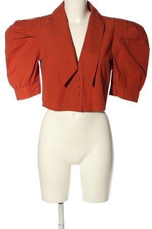 Gina Tricot Hemd-Bluse rot Elegant