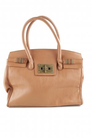 Gina Tricot Henkeltasche nude Business-Look