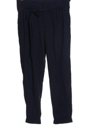 Gina Tricot Pantalón de cintura alta azul elegante