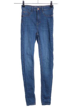 Gina Tricot High Waist Jeans blau Casual-Look