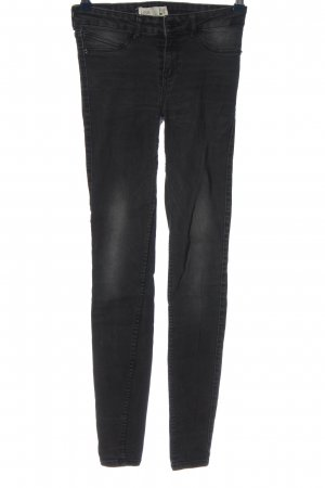 Gina Tricot Low Rise jeans zwart casual uitstraling