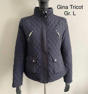 Gina Tricot Chaqueta de entretiempo azul oscuro