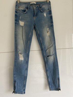 Gina Tricot Jeans slim bleu azur-bleu