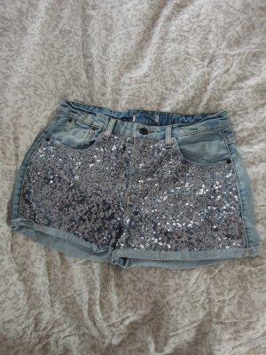 Gina Tricot Short en jean bleuet coton