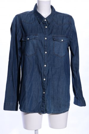Gina Tricot Denim Shirt blue casual look