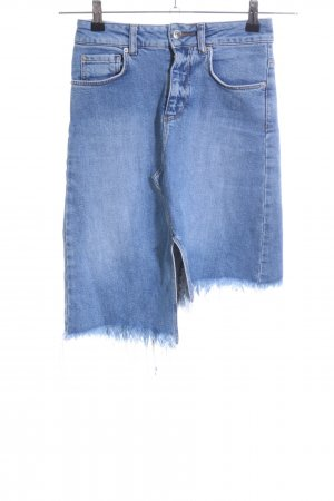 Gina Tricot Jeansrock blau Casual-Look