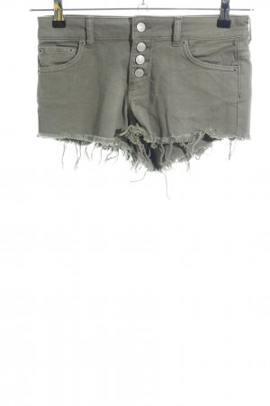 Gina Tricot Jeansshorts khaki Casual-Look