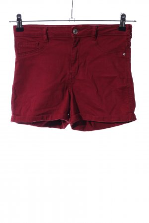 Gina Tricot Jeansshorts rot Casual-Look