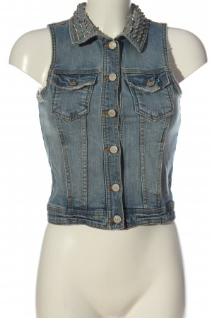 Gina Tricot Jeansweste blau Casual-Look