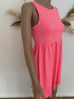 Gina Tricot Summer Dress neon pink