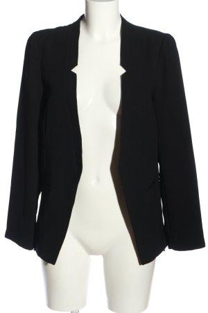 Gina Tricot Korte blazer zwart zakelijke stijl