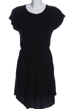 Gina Tricot Kurzarmkleid schwarz Casual-Look