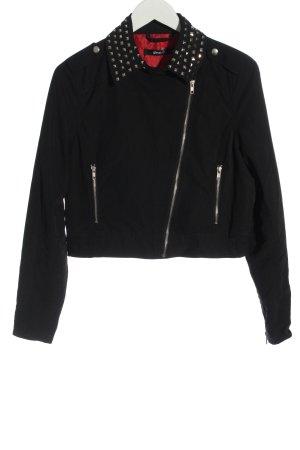 Gina Tricot Short Jacket black casual look