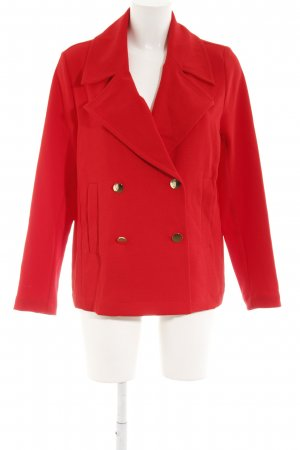 Gina Tricot Kurzmantel rot Business-Look