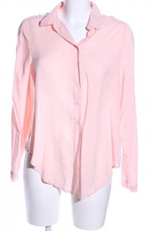 Gina Tricot Langarm-Bluse pink Business-Look