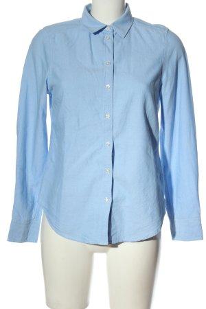 Gina Tricot Camisa de manga larga azul estilo «business»
