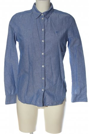 Gina Tricot Langarmhemd blau meliert Business-Look