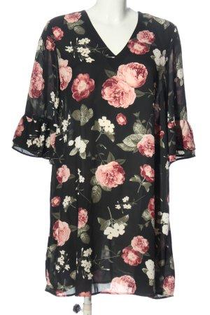 Gina Tricot Sukienka z długim rękawem Wzór w kwiaty W stylu casual