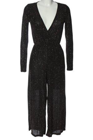 Gina Tricot Langer Jumpsuit schwarz Elegant