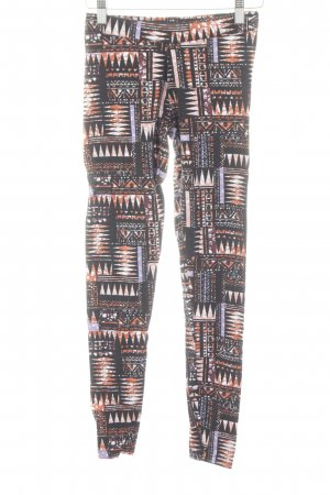 Gina Tricot Leggings Allover-Druck Casual-Look
