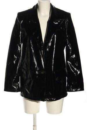 Gina Tricot Lange blazer zwart extravagante stijl