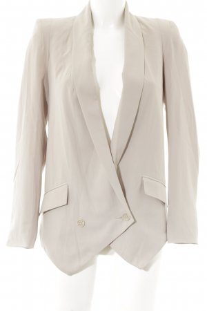 Gina Tricot Long-Blazer beige Business-Look