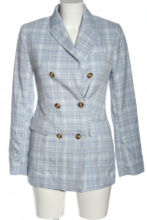 Gina Tricot Long-Blazer Karomuster Business-Look