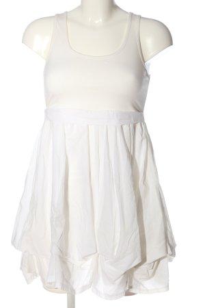 Gina Tricot Minikleid weiß Casual-Look