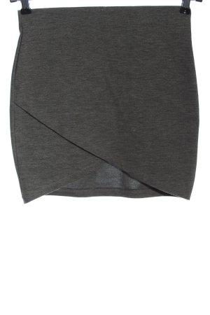 Gina Tricot Spódnica mini jasnoszary Melanżowy W stylu casual