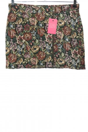Gina Tricot Minirock Allover-Druck Casual-Look