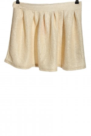 Gina Tricot Minirock creme meliert Casual-Look