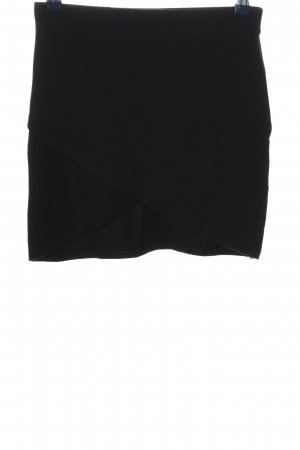 Gina Tricot Minirock schwarz Business-Look