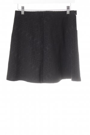 Gina Tricot Minirock schwarz Mustermix Casual-Look
