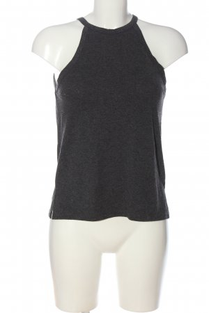 Gina Tricot Halter Top light grey flecked casual look