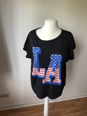 Gina Tricot oversized Shirt mit Print