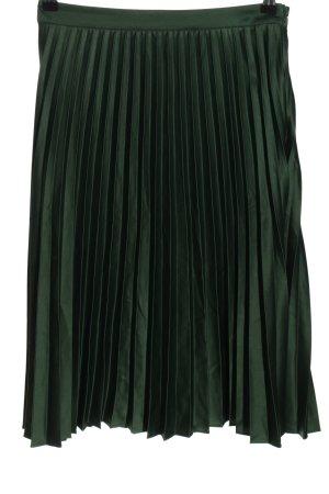 Gina Tricot Jupe plissée vert style décontracté